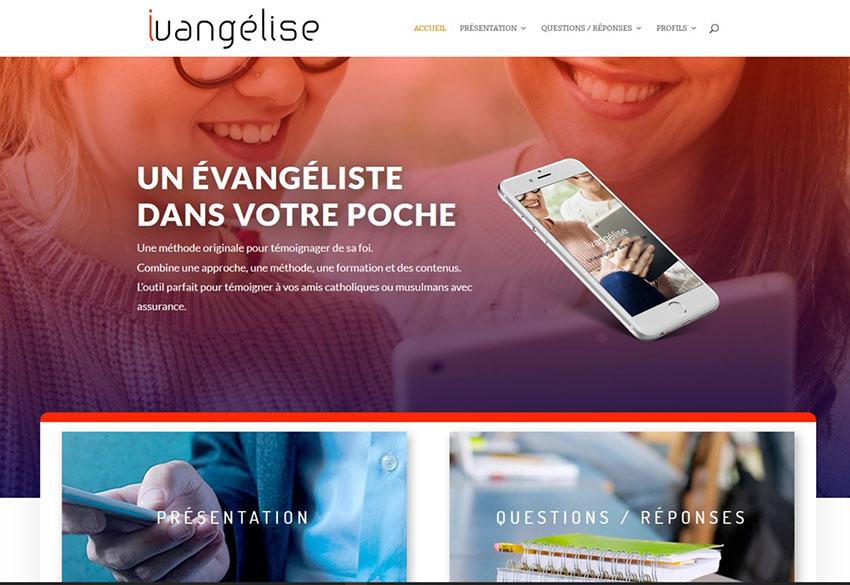 Nouveau site ivangelise avec le profil Témoins de Jéhovah