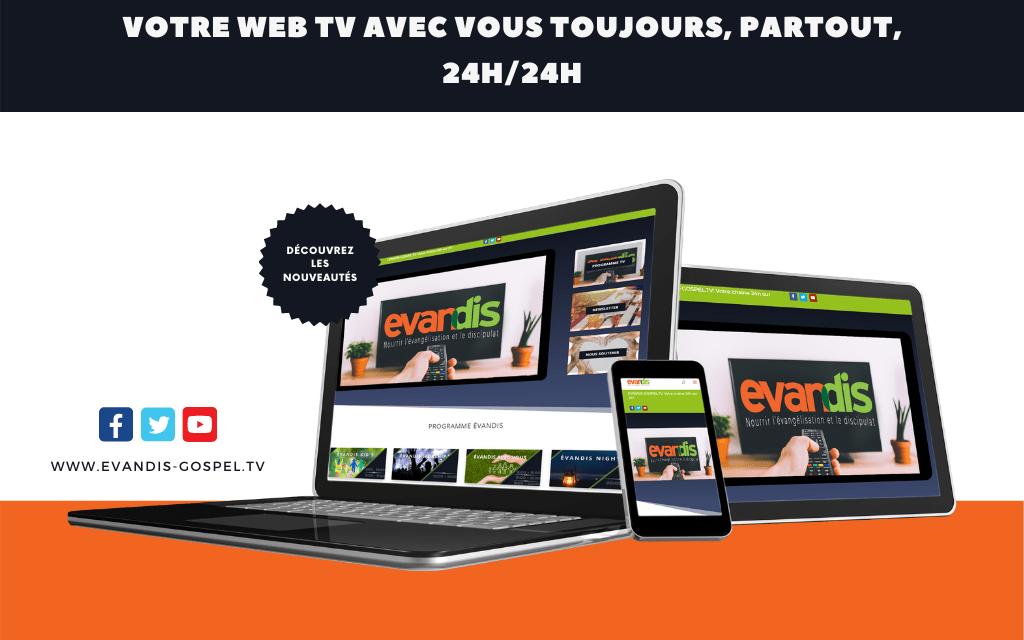 Regardez votre Web TV sur tous vos appareils !
